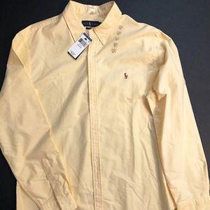 Polo Ralph Lauren Buttondown Collar Slim Fit Shirt